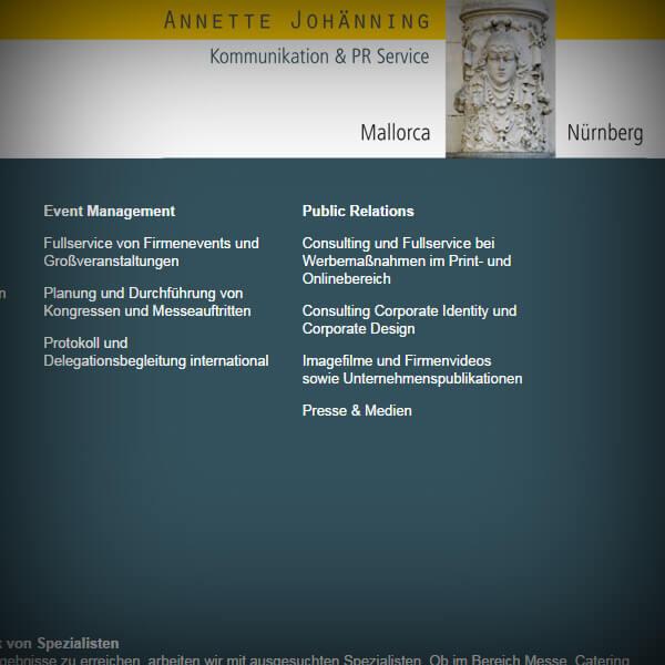 Annette Johänning - Webseite