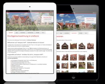 Ulli Haase Mediendesign Referenz - Bauprojekt Lindhorst