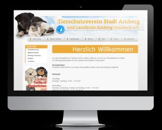 Ulli Haase Mediendesign Referenz - Tierheim Amberg
