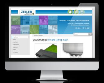 Ulli Haase Mediendesign Referenz - Hygiene Service Zeiler