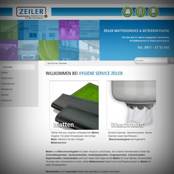 Hygiene Service Zeiler - Webseite